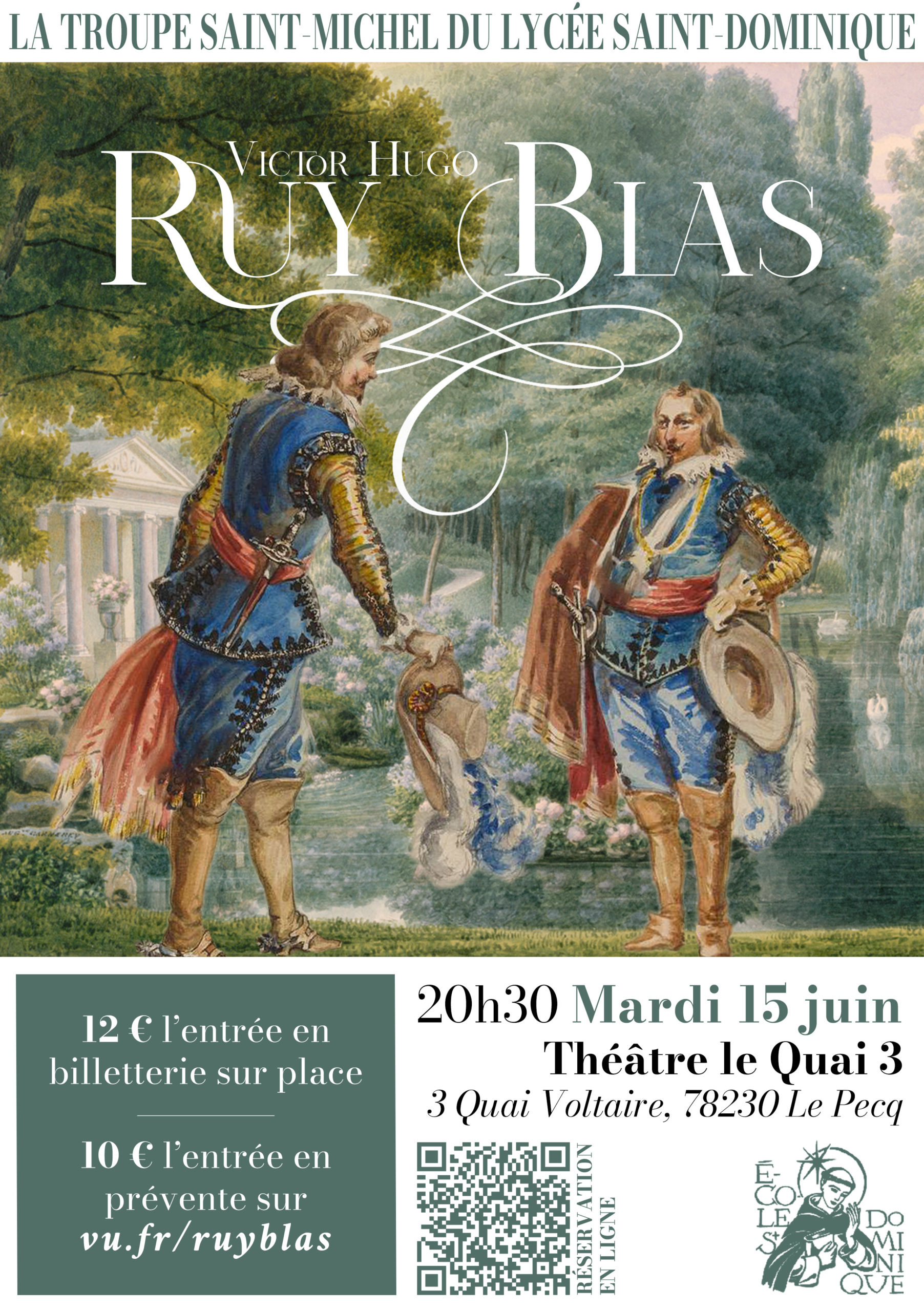 Théâtre : Ruy Blas de Victor Hugo